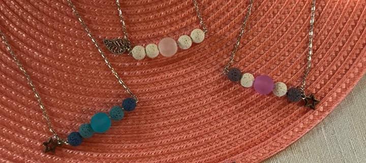 Bijou aromatherapie à offrir pour les fêtes des mamans. Offrez une création originale de l' Atelier au fil d' Élo